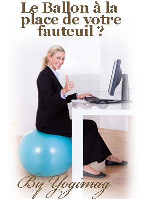 a quoi sert le ballon th rapeutique yoga yogimag. Black Bedroom Furniture Sets. Home Design Ideas