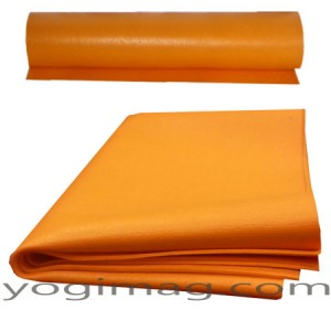 tapis de yoga fin