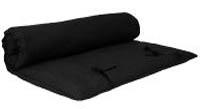 yogimag - matelas massages futon noir blog