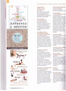 ARTICLE PRESSE FESTIVAL YOGA 2012 001