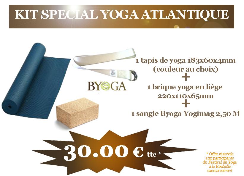 Offres spéciales promos kit yoga méditation pour le Festival du Yoga ... 43bd4824b4d