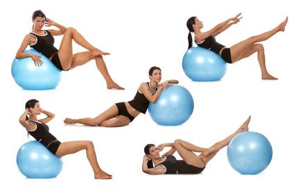 les gros ballons de yoga pilates testez les yogimag. Black Bedroom Furniture Sets. Home Design Ideas