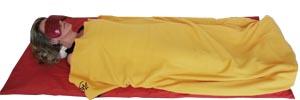 yogimag-meditation allongee tapis coussin
