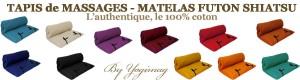 yogimag-tapis de massages futon coton authentique