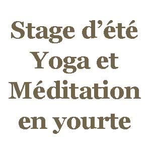 yogimag stage d ete yoga meditation en yourte