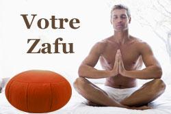 zafu coussin méditation