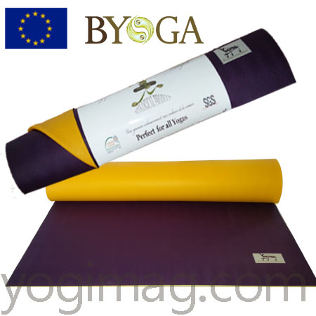 tapis de yoga latex naturel 6mm excellence mat yogimag
