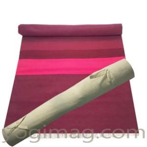 tapis de yoga BIO Naturel coton