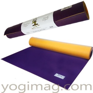 tapis de yoga latex naturel écologique yogimag