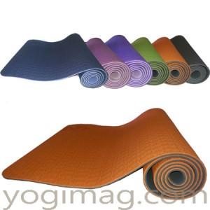 tapis de yoga TPE léger 6mm