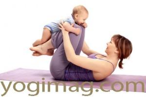yoga enfant parent tapis