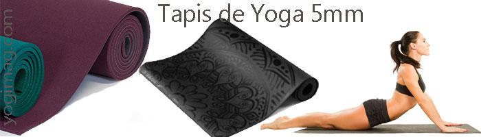 tapis de yoga épais 5mm
