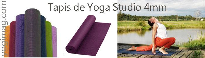 tapis de yoga studio 4mm