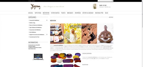 boutique méditation zafu