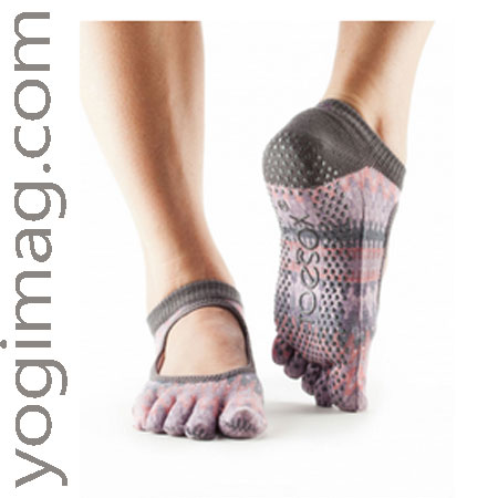 chaussettes de yoga ballerine