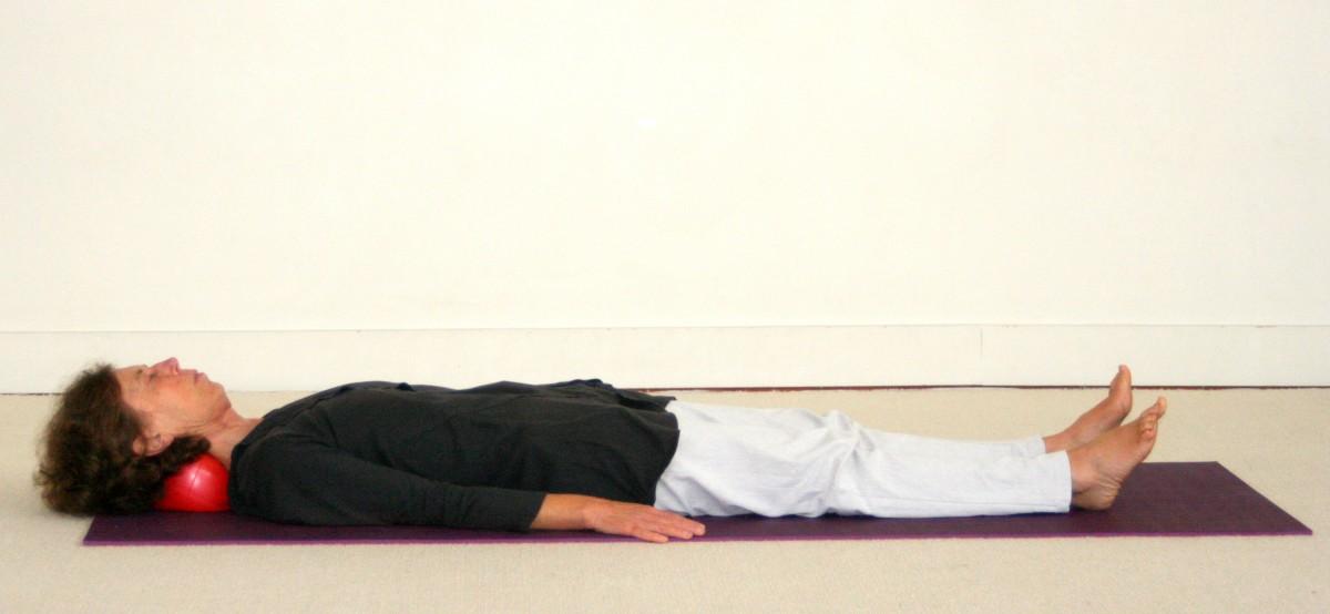 Posture de Yoga Savasana