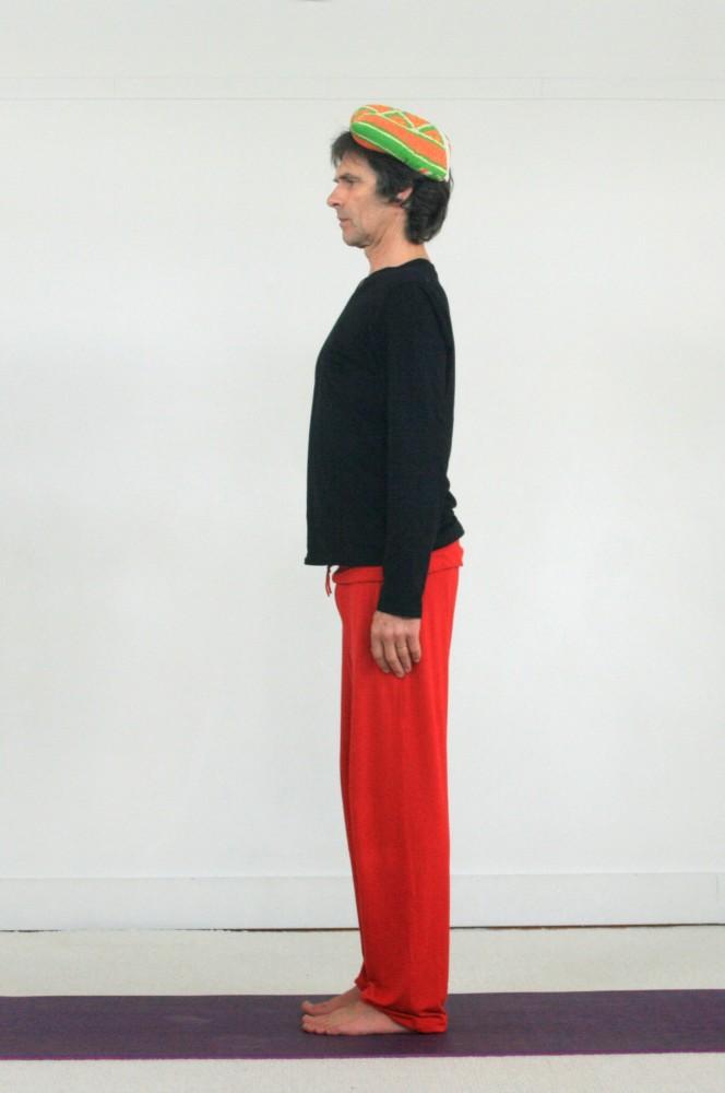 posture de yoga tadasana
