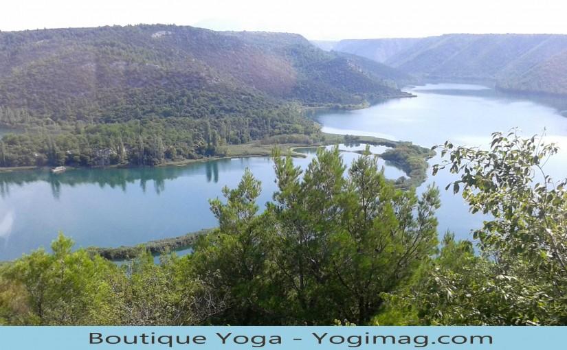 Lac de Croatie avec Yogimag
