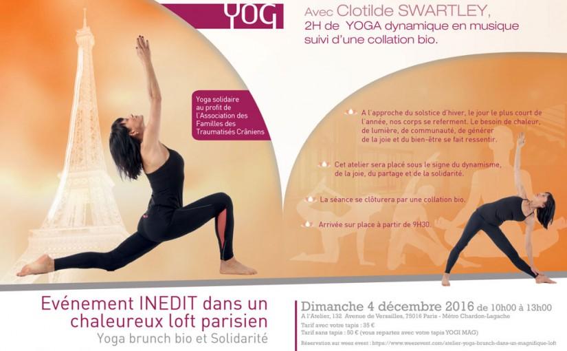 Evenement yoga Paris