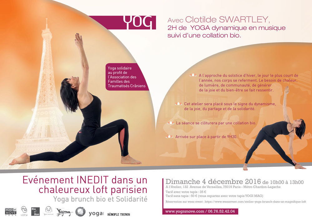 Evenement yoga Paris