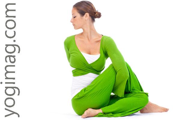 posture yoga la torsion