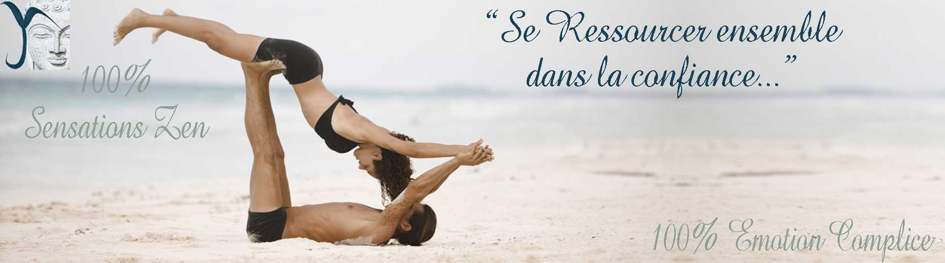 yoga et tapis