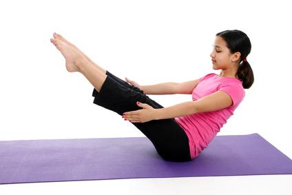 enfant yoga