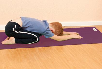 yoga garçon