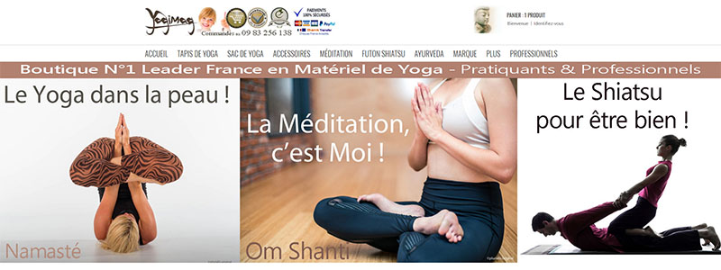 Boutique Yoga Méditation Yogimag