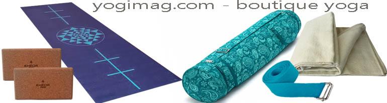 choisir ses accessoires de yoga