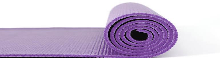 gamme de tapis de yoga
