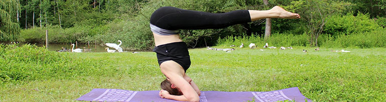 tapis de yoga de voyage