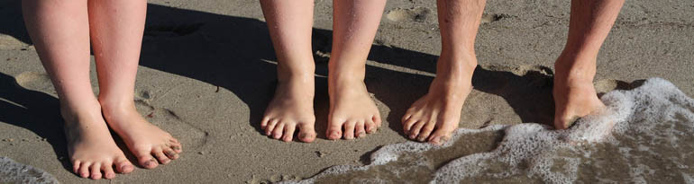 Soulager le mal de pied