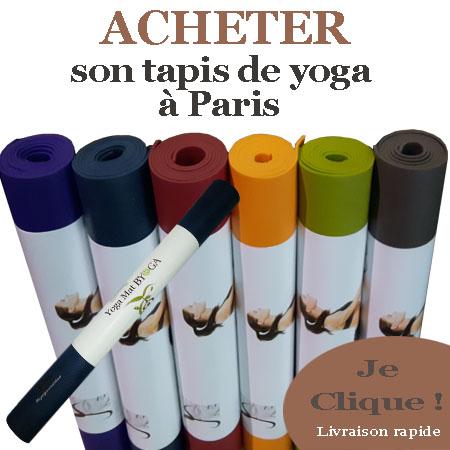 Tapis de yoga à Paris