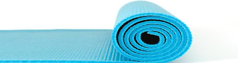 Tapis pour faire du yoga