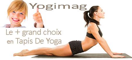 Vente tapis de yoga