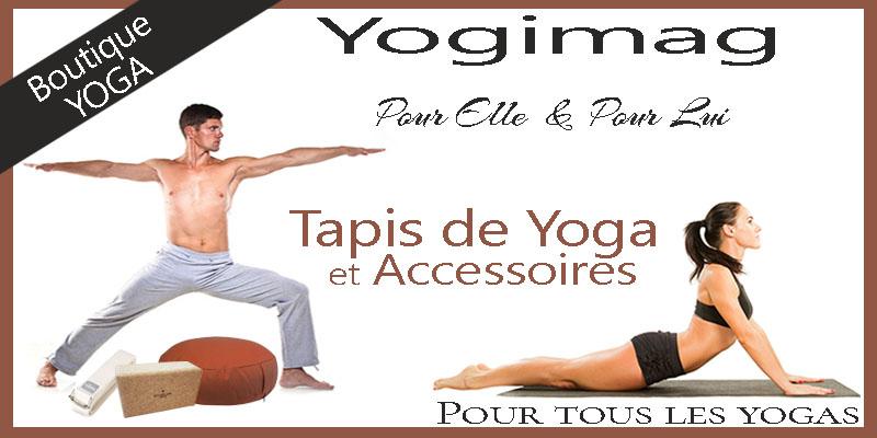 Matériel de yoga chez Yogimag