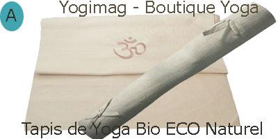 Tapis de yoga bio éco naturel