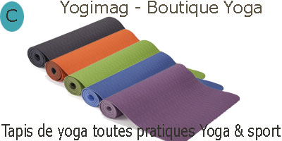 Tapis de sport yoga