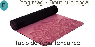 Tapis de yoga fantaisie