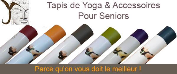 Tapis de yoga et accessoires pour seniors