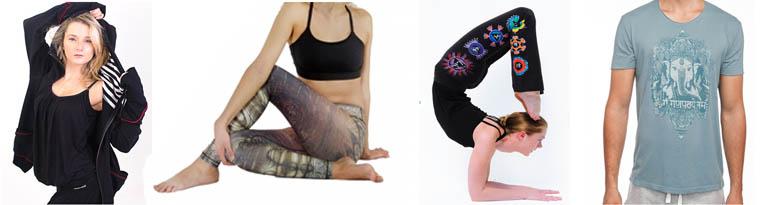 Tenues de yoga