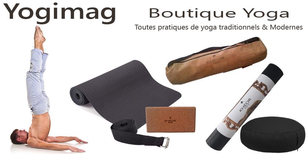 Boutique de yoga pour homme Yogimag