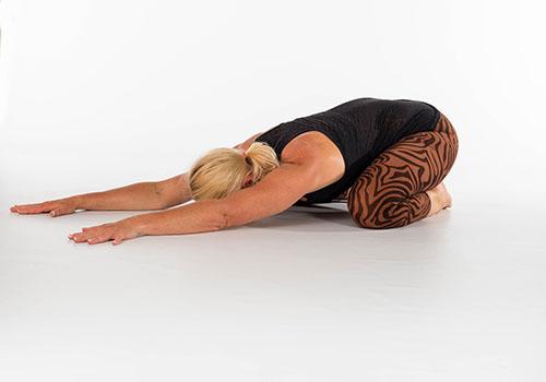 yoga- étirements du corps