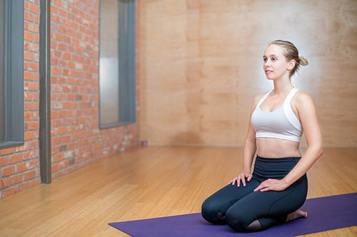 yoga - la respiration pour relâcher la tension