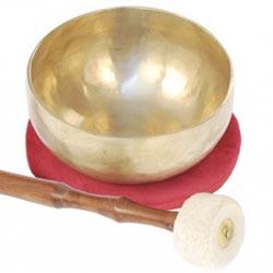 Bol chantant : accessoires de méditation