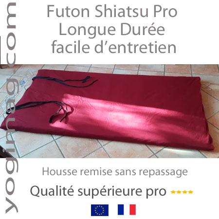 Tapis futon shiatsu longue durée