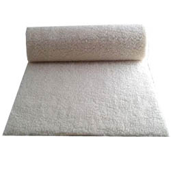 Tapis de yoga avec revêtement en laine
