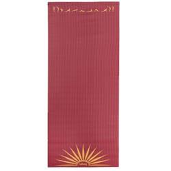 Tapis de yoga salutation au soleil
