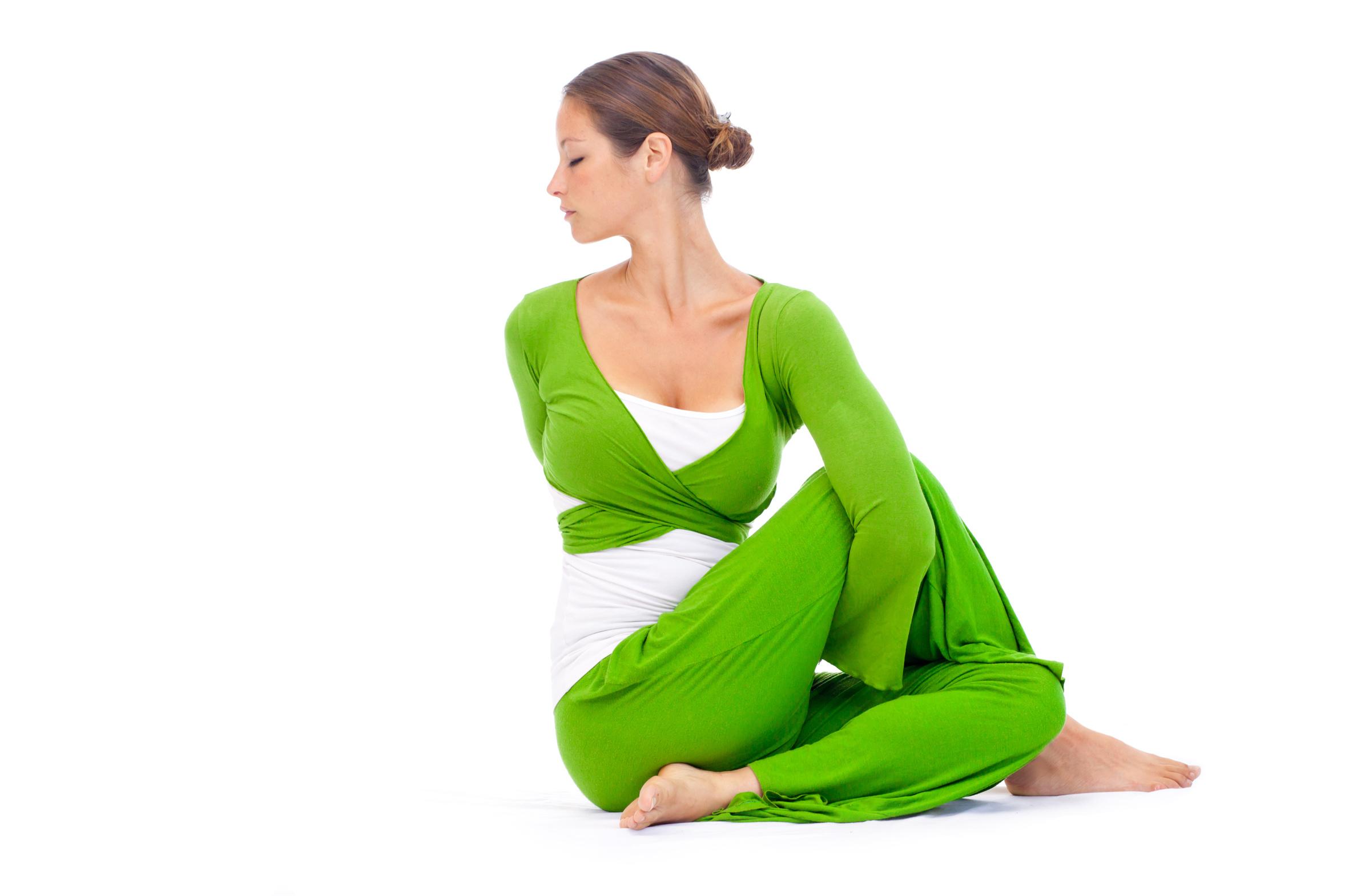 Posture de yoga d'assouplissement pour gagner en souplesse